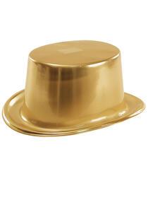 Carnival Toys 5514. Cilindro Metallizzato Oro In Plastica