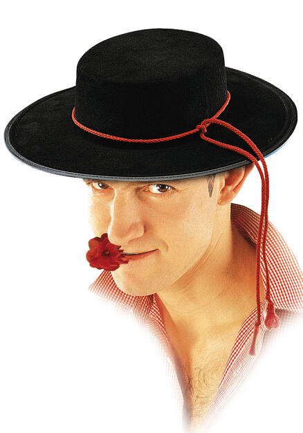 Cappello Spagnolo In Bifloccato - Carnival Toys - Idee regalo  dc7f1c97d596