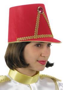 Carnival Toys 5645. Cappello Majorette Rosso In Bifloccato