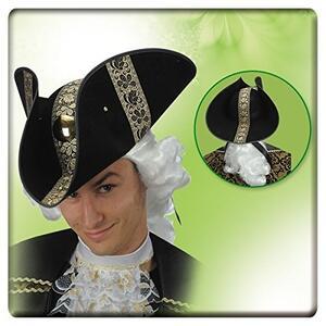 Carnival Toys 5652. Cappello Conte Max  In Bifloccato C/ Passamaneria E Diadema Oro