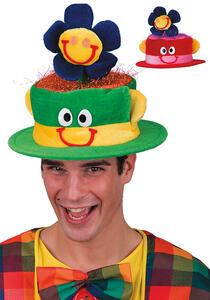 Carnival Toys 5946. Cappello Clown In Velluto Col.Ass.