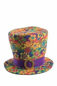 Carnival Toys 6075. Tuba Peace & Love In Tessuto H. Cm. 20 Ca.