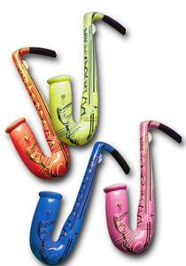 Carnival Toys 6385: Saxofono Gonfiabile Col.Ass.