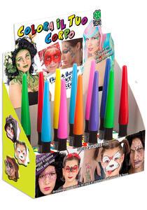 Carnival Toys 7025: Pennarello Trucco Prof. Viso/Corpo Col.Ass.