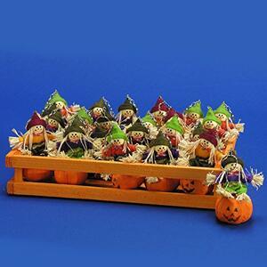 Carnival Toys 7753. Portachiavi Zucca Con Spaventapasseri 12 Cm