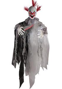 Carnival Toys 8521. Pagliaccio Assassino D'Appendere C/Occhi Lum. Suono E Movimento Batt. Incl. H.Cm.60 Ca.
