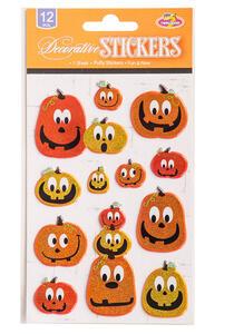 Carnival Toys 8798: Cartella Stickers In Rilievo C/Glitter Mod.Ass.