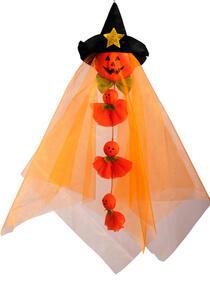 Carnival Toys 8993. Fantasmino Zucca D'Appendere C/Cappello E Fantasmini H.Cm.60 Ca.