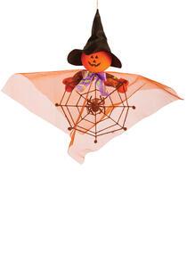 Carnival Toys 8996. Fantasmino Zucca D'Appendere C/Cappello E Ragnatela H.Cm.40 Ca. - 2
