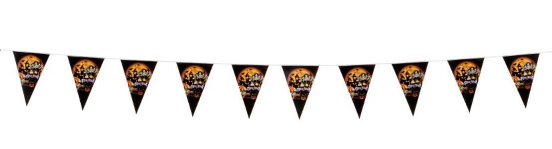 Carnival Toys 9027. Festone Bandierine Halloween In Carta L.Cm.300 Ca.
