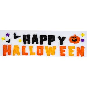 Carnival Toys 9146: Decorazione Happy Halloween In Gel H. Lettera Cm. 5 Ca. In Busta C/Cav.