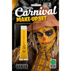 Carnival Toys 9405: Tubetto Fondotinta Giallo Ml. 28,3 Ca. In Blister