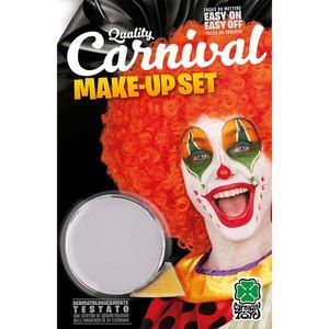 Carnival Toys 9418: Vasetto Fondotinta Bianco Clown Gr. 10 Ca. In Blister