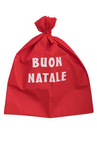Carnival Toys 9720. Sacco Babbo Natale In Tessuto H.Cm.100X70 Ca.