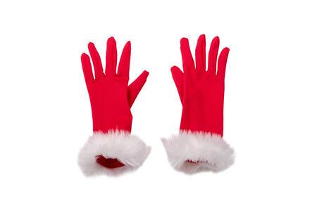 Carnival Toys 9727. Guanti Babbo Natale Donna C/Peluche