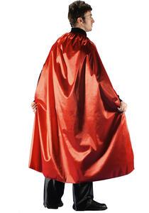 Carnival Toys 29042. Mantello Rosso In Taffetas L.Cm.135 Ca.