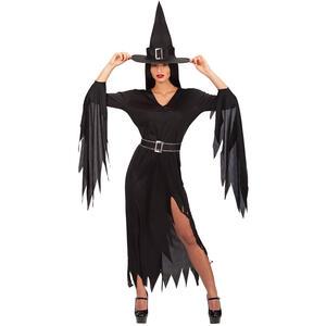Costume Strega Morticia T.U. S-M-L