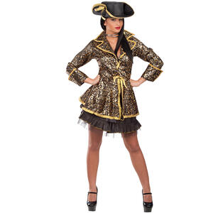 Carnival Toys 83210. Costume Piratessa Glamour T.U.S-M