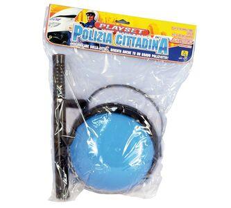 Giocattolo Elmetto Polizia Cittadina + Accessori RST 0