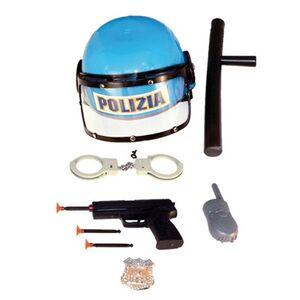 Giocattolo Elmetto Polizia Cittadina + Accessori RST 1