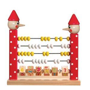 Giocattolo Pallottoliere Pinocchio Legno Ronchi Supertoys 1
