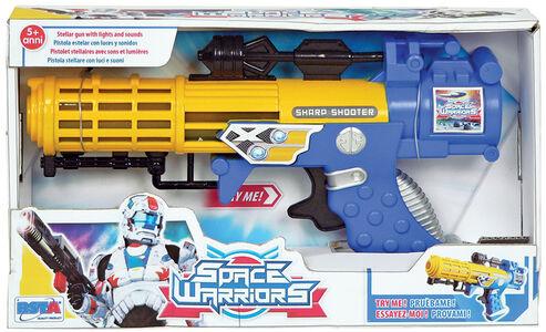 Giocattolo Fucile Space Warriors a luce solare a batteria RST