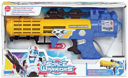 Giocattolo Fucile Space Warriors a luce solare a batteria RST 0