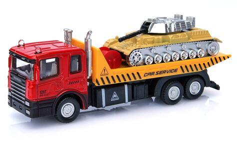 Macchinina D/C Camion Trasp con Veicolo Ass RST Asia - 5