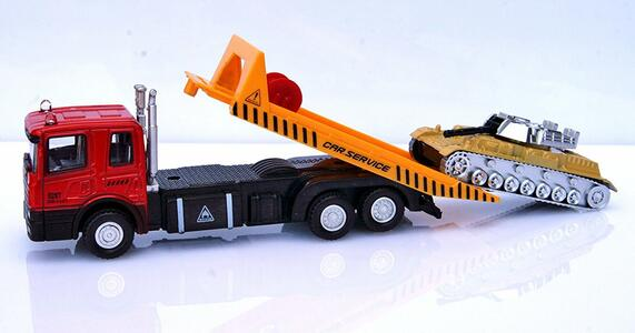 Macchinina D/C Camion Trasp con Veicolo Ass RST Asia - 6