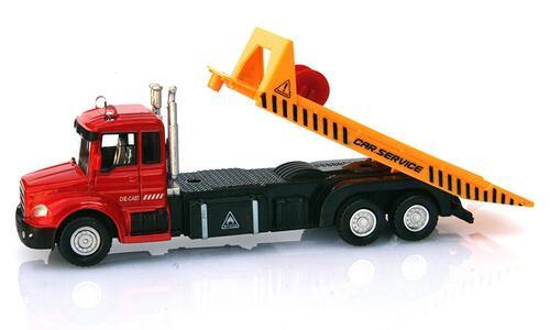 Macchinina D/C Camion Trasp con Veicolo Ass RST Asia - 7