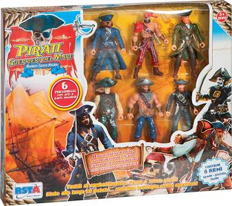 Pirati 6 pezzi con Accessori