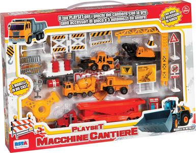 Mezzi Lavoro Playset Cantiere - 2