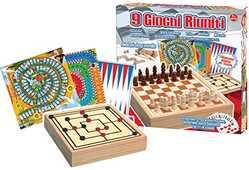 Giocattolo Giochi Riuniti 9 in Legno Ronchi Supertoys Ronchi Supertoys