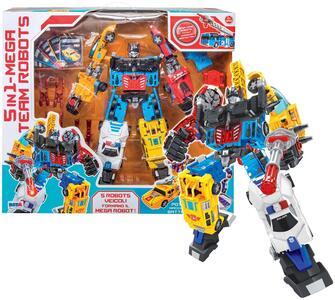 Robot Transformer 5 in 1 RST Asia - 2