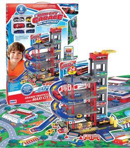 Garage A Piani con Auto con Tappeto Ronchi Supertoys - 2