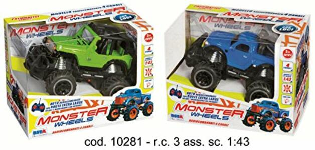 Rc Fuoristrada Monster 27mhz