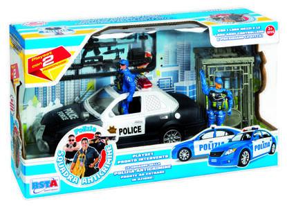 Playset Polizia 2 Assortiti