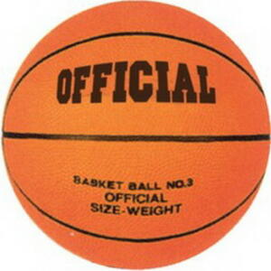 Pallone Basket. Official N. 3