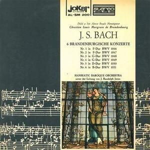 Concerti Brandeburghesi - Vinile LP di Johann Sebastian Bach