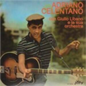 Con Giulio Libano e la sua orchestra - Vinile LP di Adriano Celentano