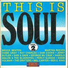 This Is Soul - vol.2 - CD Audio di Drifters