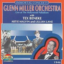 Live at the Hollywood Palladium 1946 - CD Audio di Glenn Miller