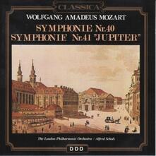 Sinfonie n.40, n.41 - CD Audio di Wolfgang Amadeus Mozart,London Philharmonic Orchestra,Alfred Scholz