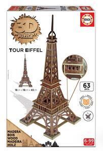 Puzzle 3D Monument. Torre Eiffel
