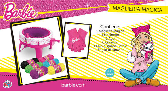 Barbie. Maglieria Magica