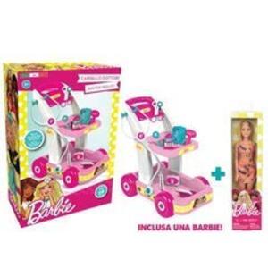 Barbie. Carrello Dottore Con Barbie