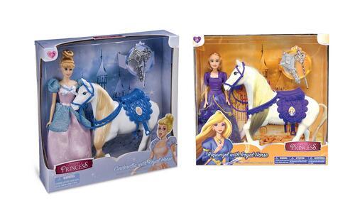 Principessa Classica. Fashion Doll 29 Cm Con Cavallo