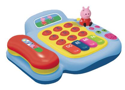 Piano telefono Peppa Pig