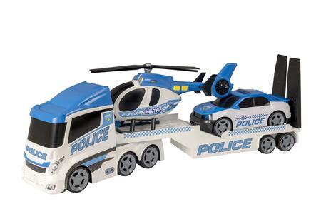 Teamsterz. Camion Polizia Trasporto Elicottero E Auto