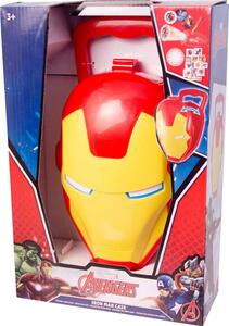 Valigetta Iron Man con Projector, Badge con Luce e Stickers - 2